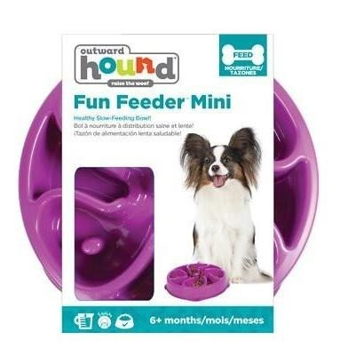 Outward Hound Fun Feeder Miska fioletowa