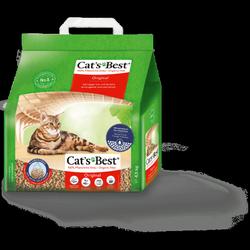 Cat's Best Original naturalny drewniany żwirek zbrylający pochłaniający zapachy