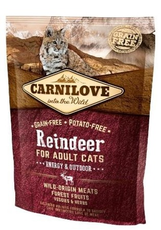 Carnilove Cat Reindeer Energy & Outdoor - renifer