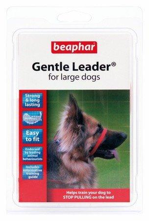 Kantar, obroża uzdowa dla psów dużych ras Gentle Leader czerwona