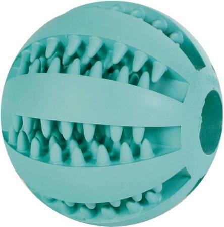 Klasyczna piłka z otworem i wypustkami - dentystyczna - 7 cm