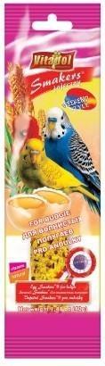 Kolby jajeczne dla papużek falistych