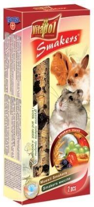 Kolby o smaku muesli dla królików i gryzoni - 2 sztuki