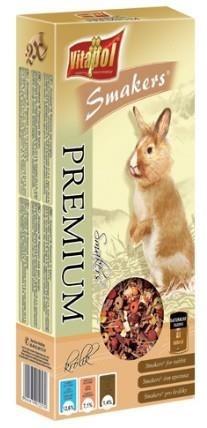 Kolby z linii premium dla królików - 2 sztuki