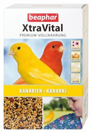 Kompletna karma dla kanarków XtraVital Kanarien Kanarki 500g