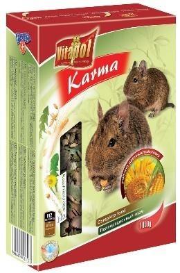 Naturalna karma w formie mieszanki dla koszatniczek - 1 kg