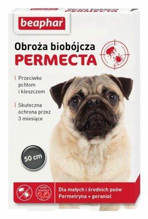Obroża przeciw pchłom i kleszczom Permecta S/M - 50cm