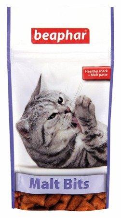Odkłaczający przysmak z przeciwko pilobezoarom dla kotów Malt Bits 135g