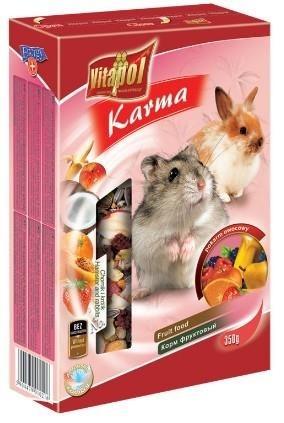 Owocowa karma dla chomika i królika - 350 g