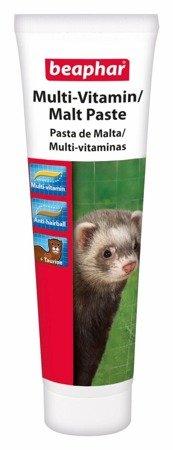 Pasta przeciw tworzeniu się złogów sierści u fretek Multi-Vitamin Malt Paste Ferret 100g