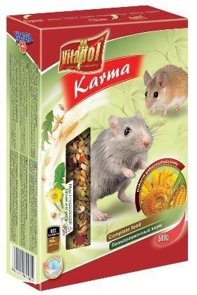 Pełnowartościowa mieszanka dla myszy i myszoskoczków - 500 g