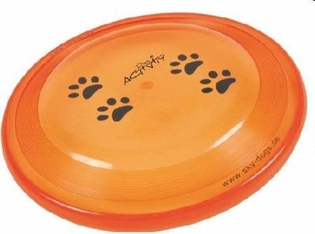 Profesjonalny dysk Frisbee do rzucania i aportowania dla psa - original 23cm
