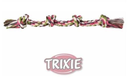 Prosty sznur bawełniany z supłami - 54 cm