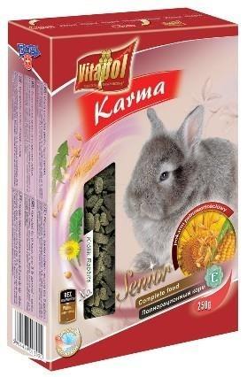Specjalistyczny pokarm stworzony z myślą o starszych królikach - 250 g