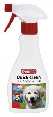 Spray do czyszczenia i usuwania brudu z sierści psa Quick Clean 250ml