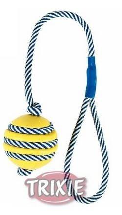 Sznurek z rączka i piłką do przeciągania - 5/40 cm