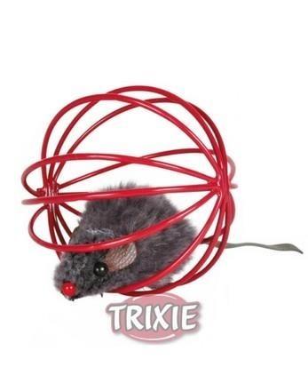 Trixie Piłka druciana z myszką
