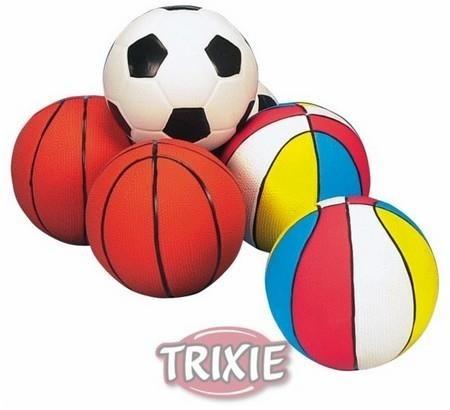 Sportowa piłka dla psa z kauczuku - 13 cm