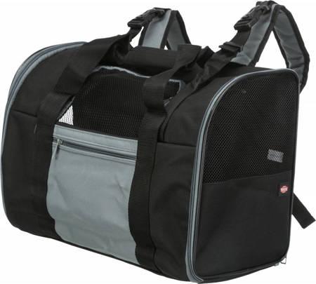 Sztywny nylonowy plecak do przenoszenia psa - 44 x 30 x 21 cm