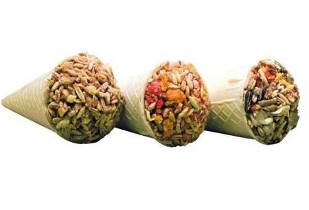 Warzywny rożek dla gryzoni
