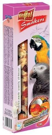 Tropikalne kolby XXL dla dużych papug - 2 sztuki
