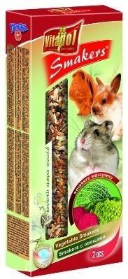 Vitapol Smakers Kolby dla gryzoni i królika warzywne 2 sztuki