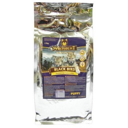 Wolfsblut Dog Black Bird Puppy indyk i bataty 2kg