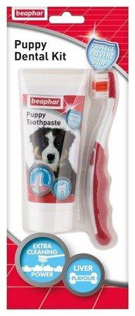 Zestaw do mycia zębów dla szczeniąt Puppy Dental Kit
